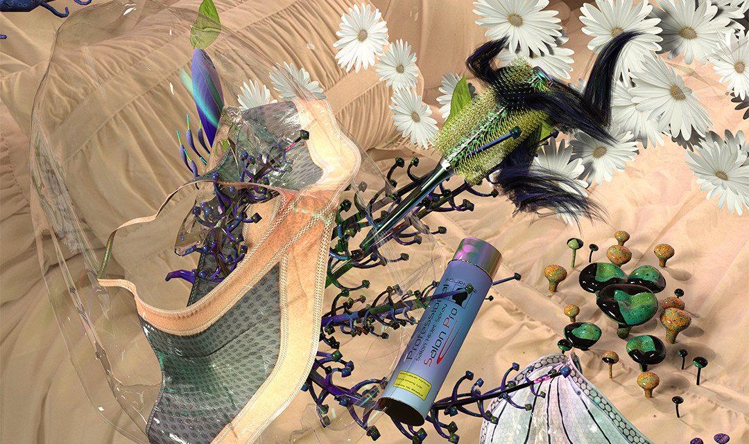 These Freaky Net Art Collages Look Like Alien Organisms
