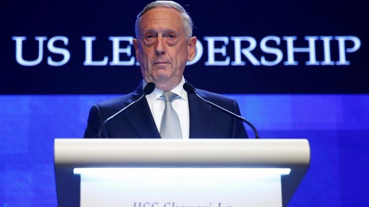 Shangri-La Dialogue: Mattis Hawks Weapons and Hegemony