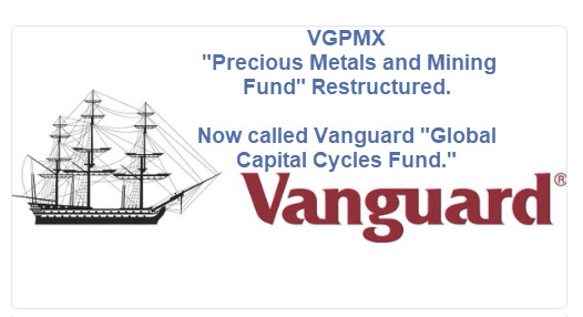 Gold Bell Rings: Vanguard Throws in the Towel on Precious Metals and Mining Fund