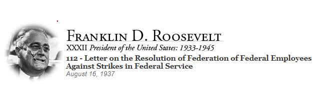 Public Unions Have No Business Existing: Even FDR Admitted That