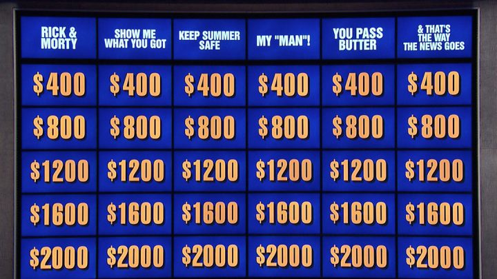 Here's How All Those 'Rick and Morty' Jokes Wound Up on 'Jeopardy!'