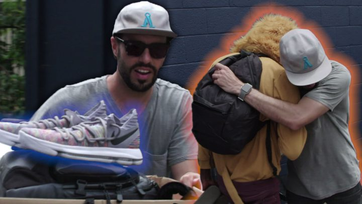 This Nonprofit Donates Sneakers to Homeless and At-Risk Youth