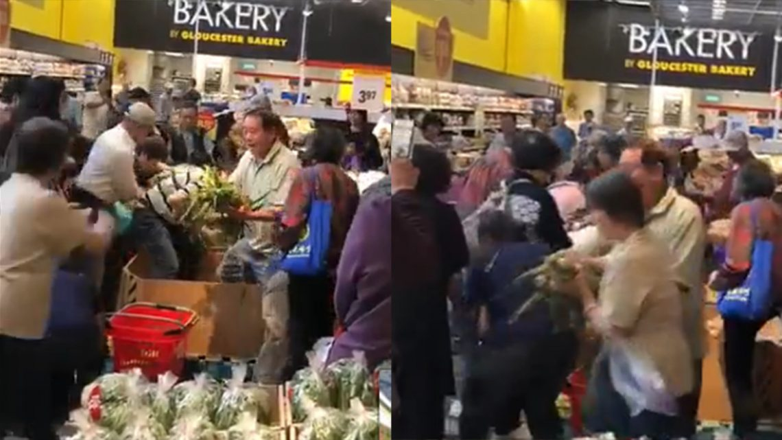 Breaking Down This Insane Video of a Fight over Corn in a Supermarket