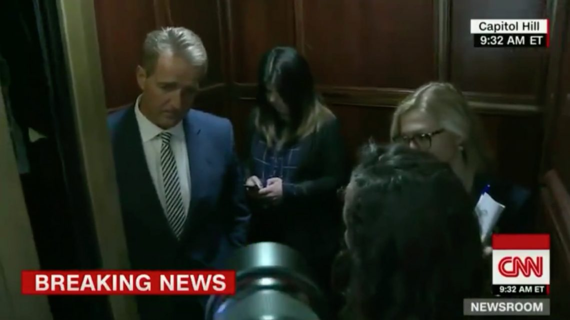 Woman Who Confronted Jeff Flake in the Elevator: 'I Wanted Him to Feel My Rage'
