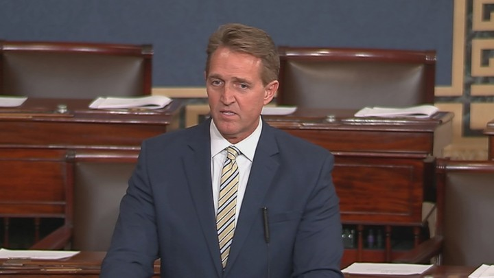 Jeff Flake Did the Right Thing, for Once