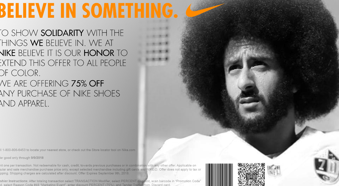 Racists Are Peddling Fake Nike Coupons for 'People of Color'