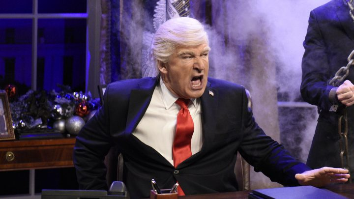 Alec Baldwin Does a Better Trump Impression Off-Screen