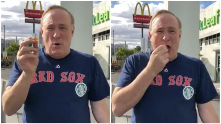 Watch a Utah Lawmaker Try Weed for the First Time in a Parking Lot