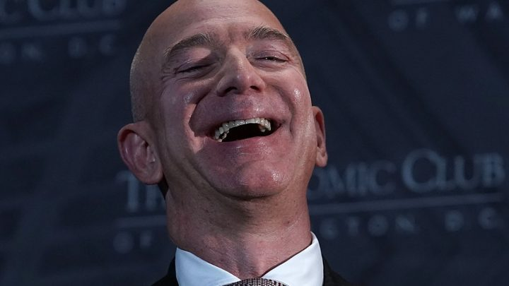 Jeff Bezos Is So Powerful He Basically Dictates the Minimum Wage Now
