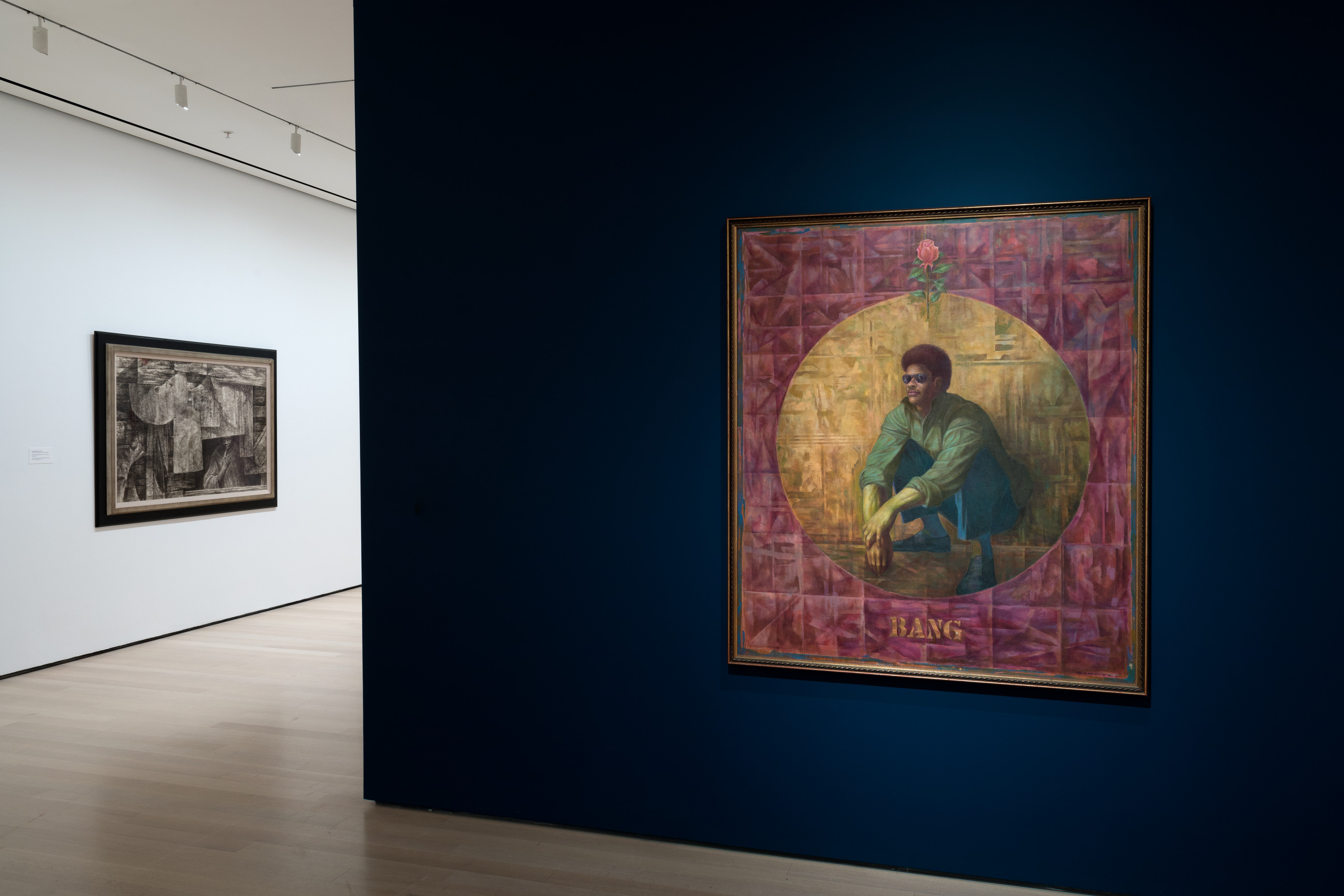 Installation view of the exhibition Charles White: A Retrospective. October 7, 2018–January 13, 2019. The Museum of Modern Art, New York. Digital Image © 2018 The Museum of Modern Art, New York. Photo by Robert Gerhardt.
