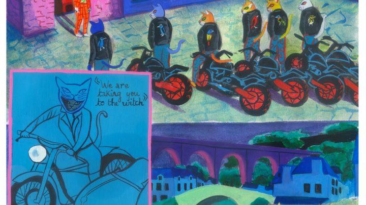 'Cat Gang: Initiation,' Today's Comic by Rosa Arango