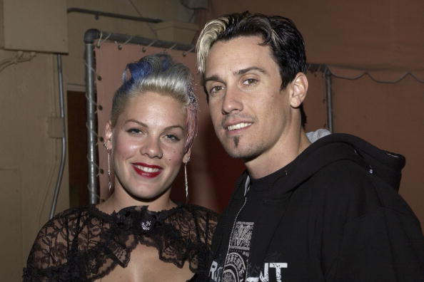 Pink's Husband Suggests He'd Shoot Wildfire Looters in California