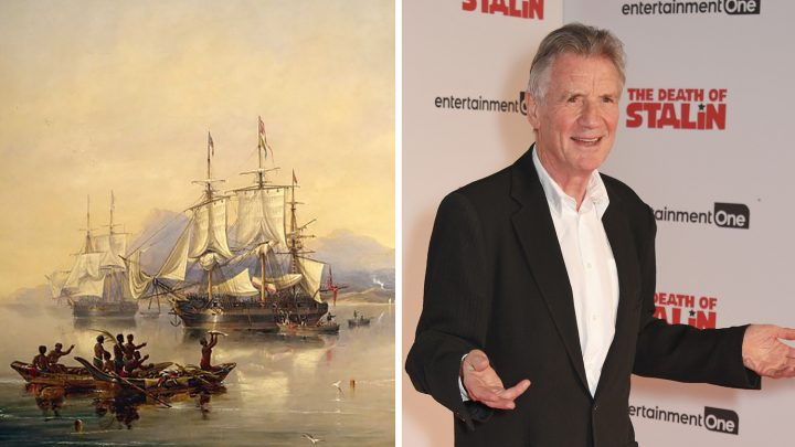 Monty Python's Michael Palin Explains Why He's Obsessed with a Mysterious Boat