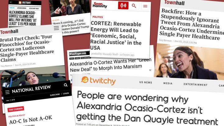 The Right-Wing Media Can't Quit Alexandria Ocasio-Cortez