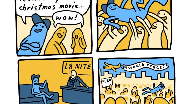 'Good Parents Die Hard,' Today's Comic by Alex Krokus