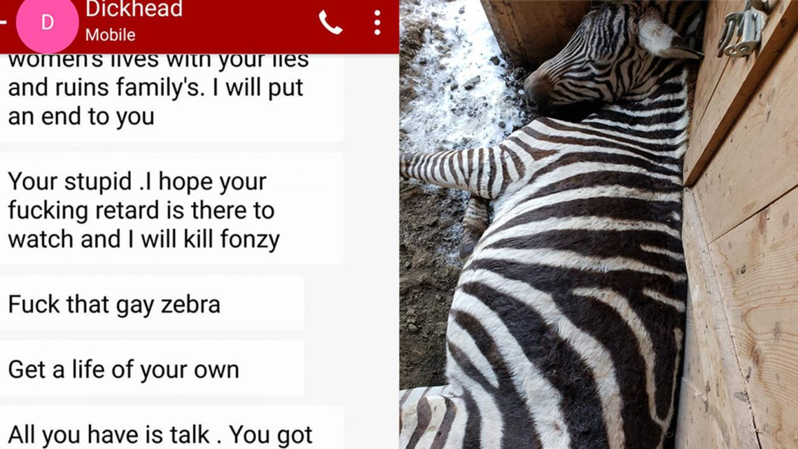 First Someone Murdered His Zebras, Then He Was Shot Too