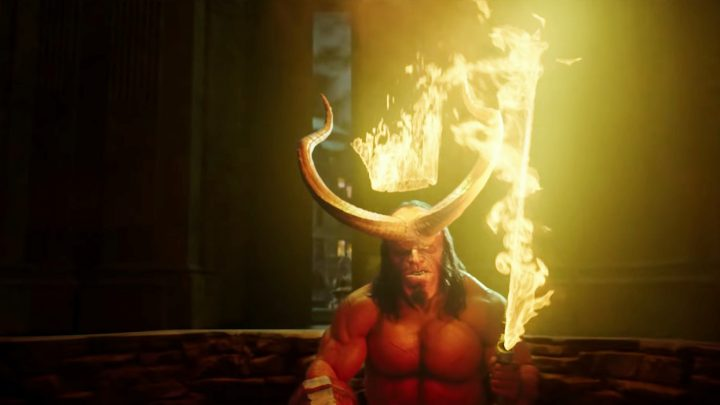 Watch Hellboy Get Smacked Around by Giants in a New Trailer