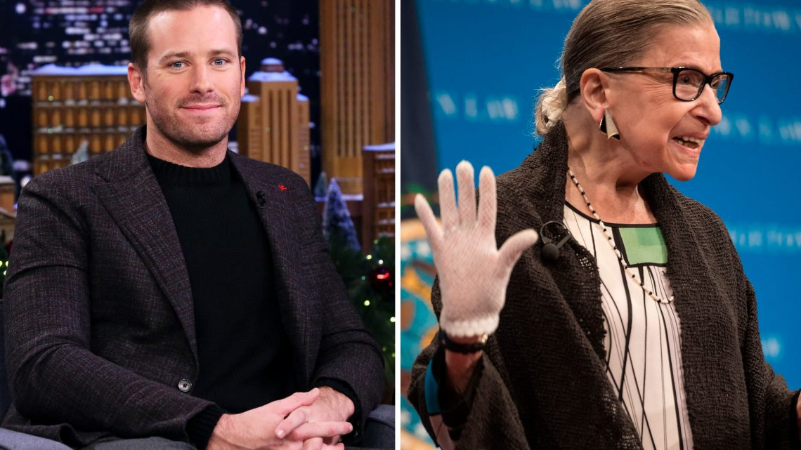 Armie Hammer Cooks RBG's Husband's Recipes, Proves He's a Snack