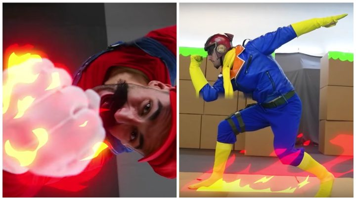 Marvel Stuntmen Recreated a 'Super Smash Bros.' Fight IRL and It's Incredible