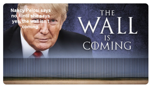 Trump Makes Case for Wall, Pelosi Says No, Ron Paul Says We Don't Need It