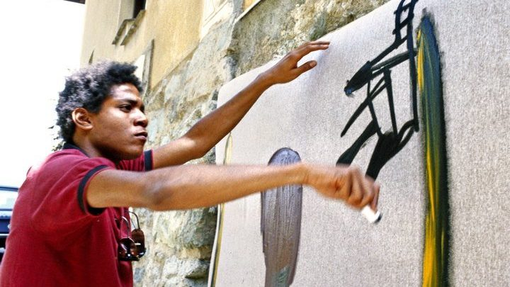 An Art Examiner Discovered Secret Basquiat Drawings Using a Blacklight