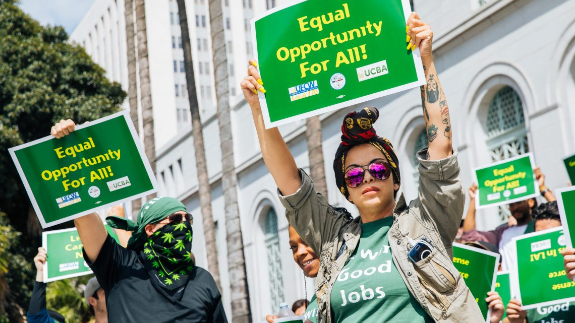 Unionizing Weed Workers Are Reigniting the Labor Movement