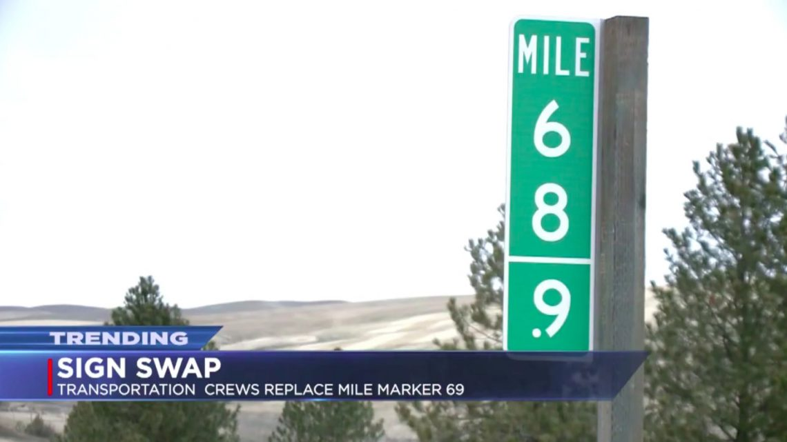 Highway Forced to Install Mile Marker 68.9 After Thieves Keep Stealing '69' Sign