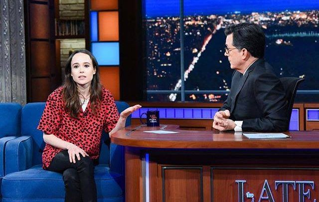 Watch Ellen Page Call Out Mike Pence's Homophobia on 'The Late Show'