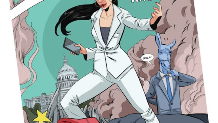 Alexandria Ocasio-Cortez's Underdog Story Is Now Officially Becoming a Comic Book