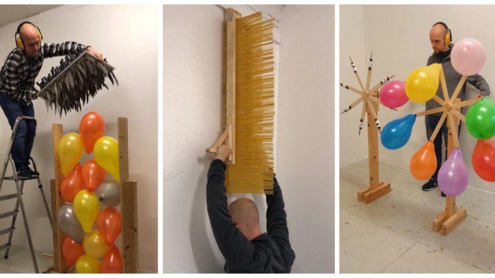 Artist Jan Hakon Erichsen Explains His Balloon Popping/Pasta Breaking Instagram Videos