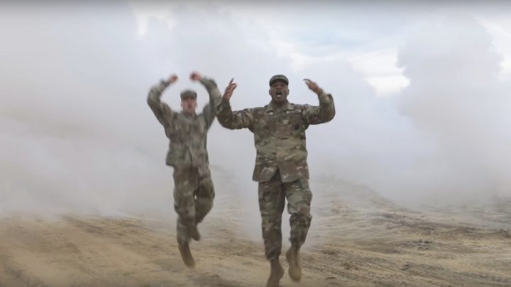 The US Army Somehow Thought This Rap Recruitment Video Was a Good Idea