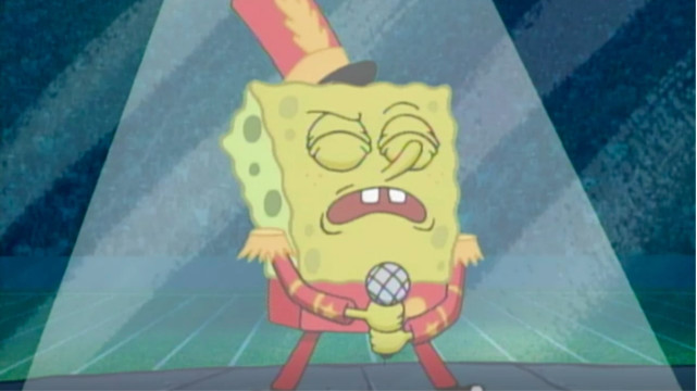 This Guy Says the Super Bowl Fully Ripped Off His SpongeBob Meme