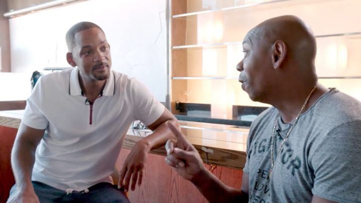 This Video of Dave Chappelle Teaching Will Smith Stand-Up Is Extremely Will Smith