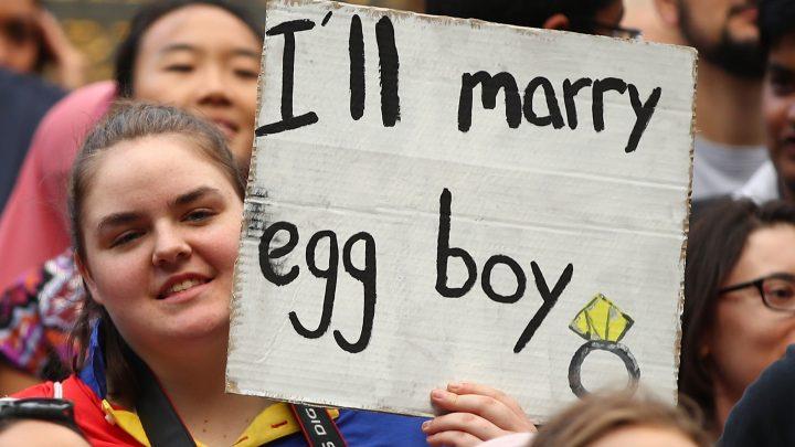 Egging Politicians Is Good, Actually