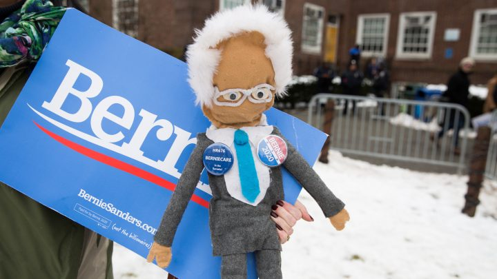 Portraits from the Center of Brooklyn's Bernie Sanders Hype Storm