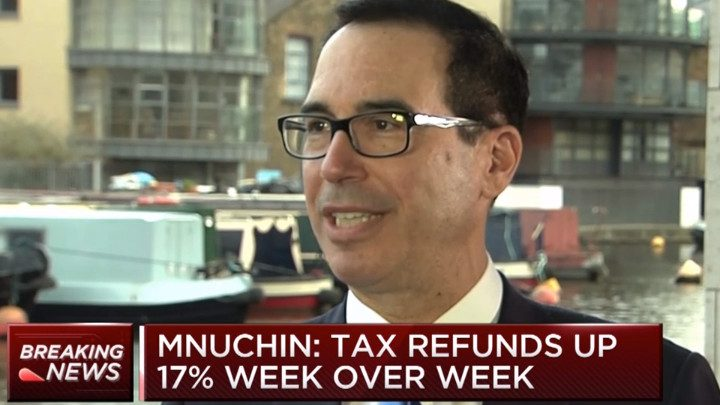 People Outraged Over Lower Tax Refunds But Treasury Says Refunds Above Last Year