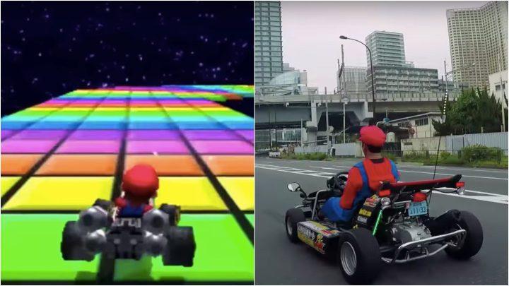 Someone Illegally Drove a Real-Life Mario Kart over Tokyo's Rainbow Bridge