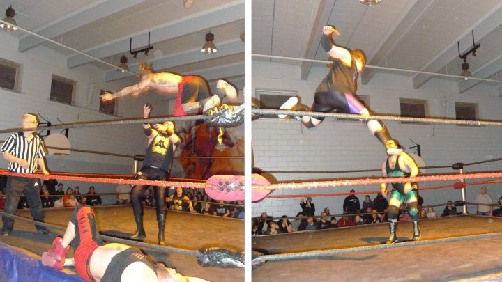 Inside a Brutal Night of Amateur Wrestling