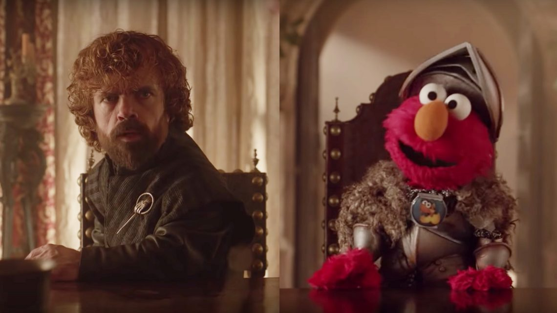 This 'GoT'/'Sesame Street' Crossover Would Be Way Better if Elmo Killed a Guy