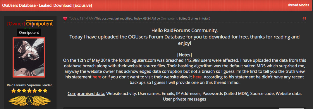 Infamous Forum For Instagram Hackers Gets Hacked by Other Hackers