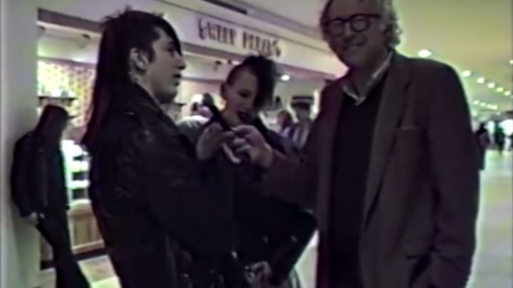 Watch a Young Bernie Sanders Talk to Punks About How Society Is 'Baloney'