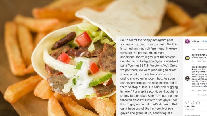 Gay Teens Say Gyro Restaurant Worker Told Them 'Their Kind' Was Not Welcome