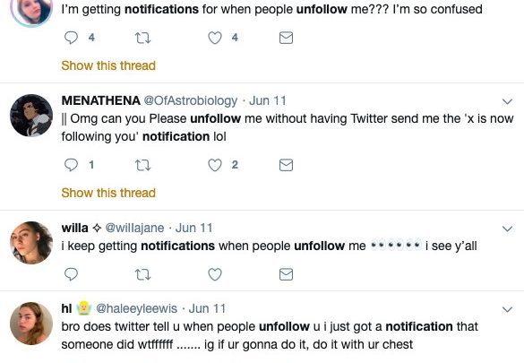 A Nightmare Twitter Bug Is Sending Users Notifications When They're Unfollowed