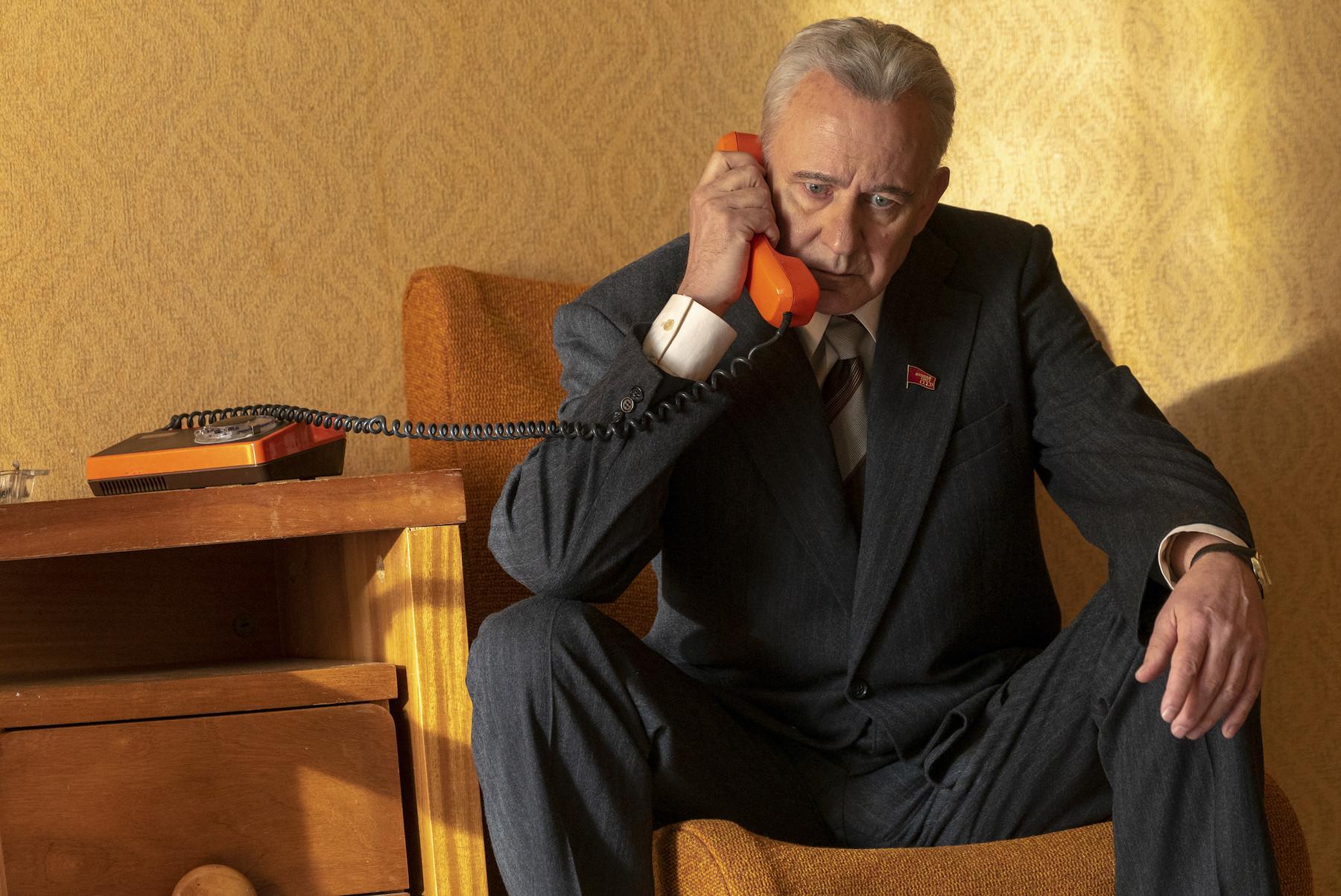Stellan Skarsgård as Boris Shscherbina in 'Chernobyl'