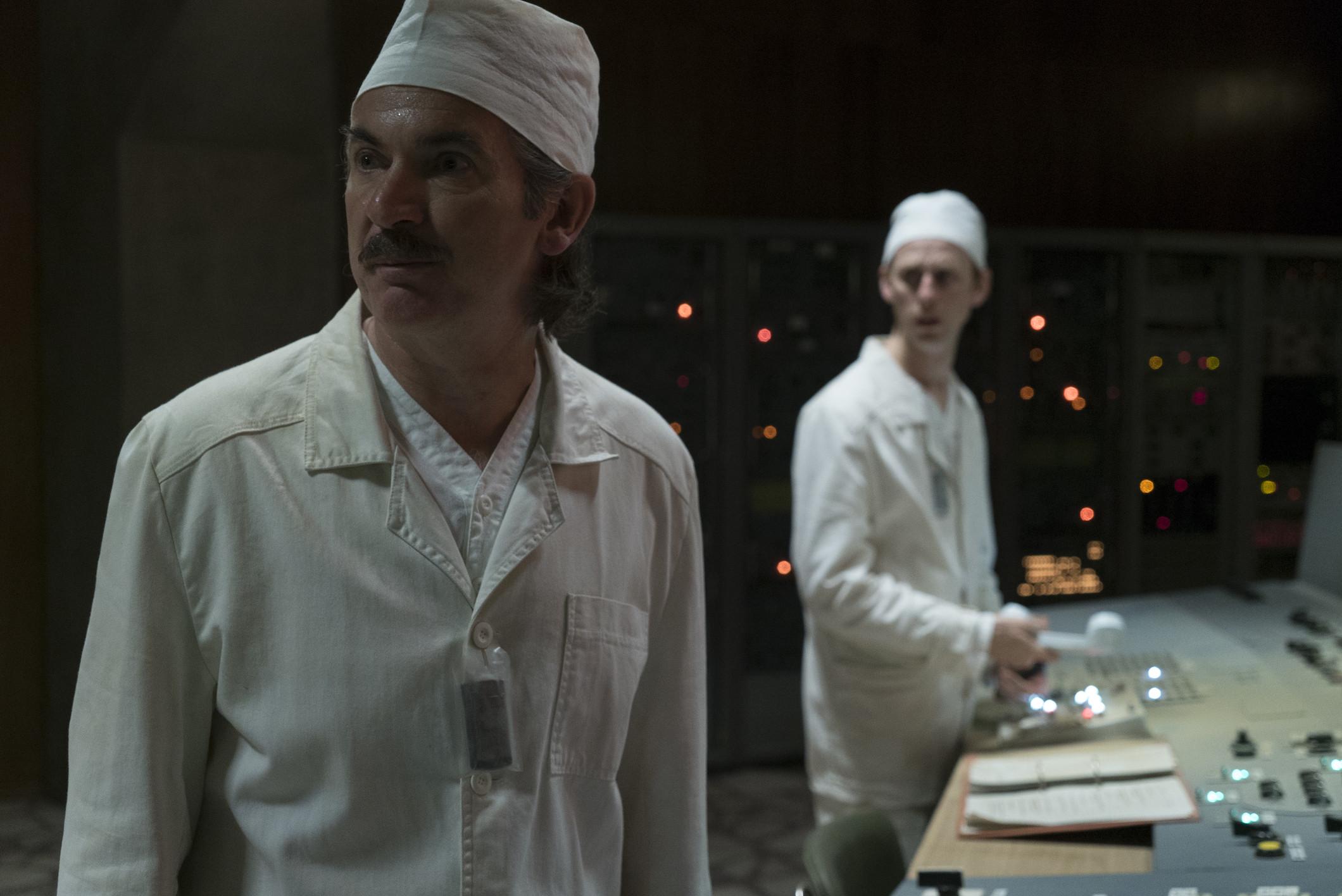 Paul Ritter in 'Chernobyl'