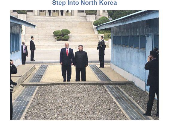 Trump Meets Kim Jong Un in North Korea, Nuclear Talks Resume