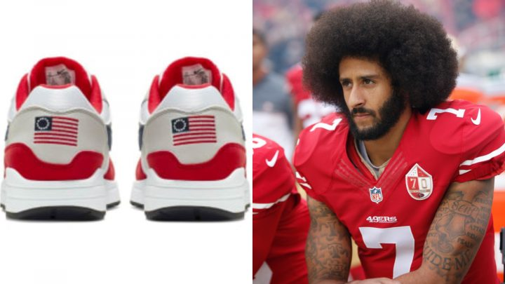 Colin Kaepernick and Nike Are Right, the Betsy Ross Flag Shouldn't Be on Sneakers