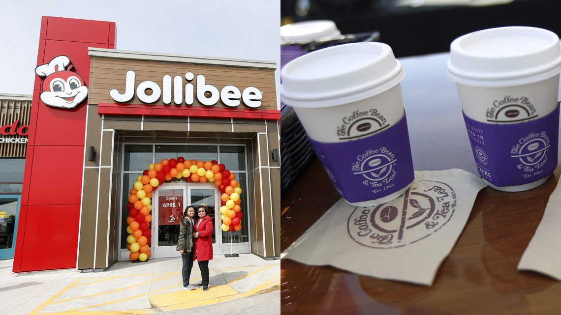 Jollibee Buys Struggling Coffee Bean & Tea Leaf Chain, Continues Its World Takeover