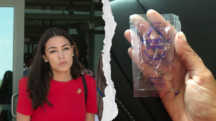 This Is Who Sells Those Crappy Shampoo Packets AOC Found in Migrant Detention