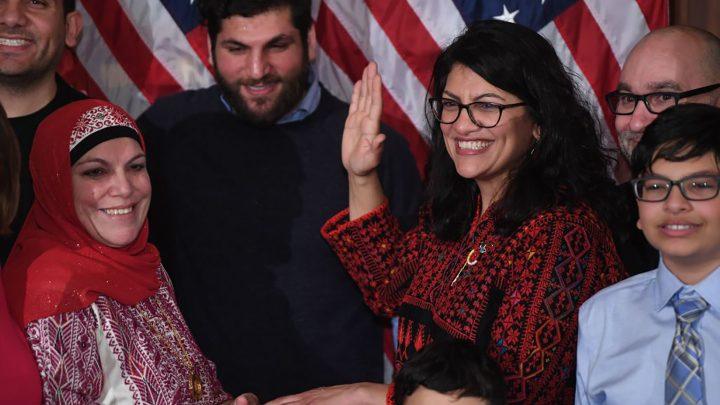 Rashida Tlaib and Ilhan Omar Were Headed for Palestine, Not Israel